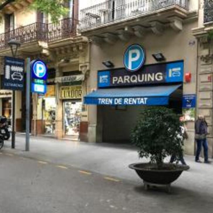 Öffentlicher Parkplatz GARATGE CONDAL (Überdacht) Barcelona