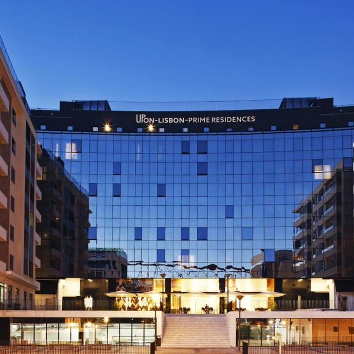 Parque de estacionamento Estacionamento Hotel UPON LISBON RESIDENCES (Coberto) Lisboa