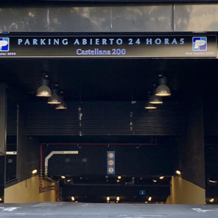 Öffentlicher Parkplatz CASTELLANA 200 (Überdacht) Madrid