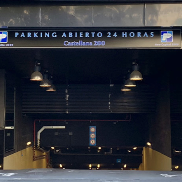 Parking Público CASTELLANA 200 (Cubierto) Madrid