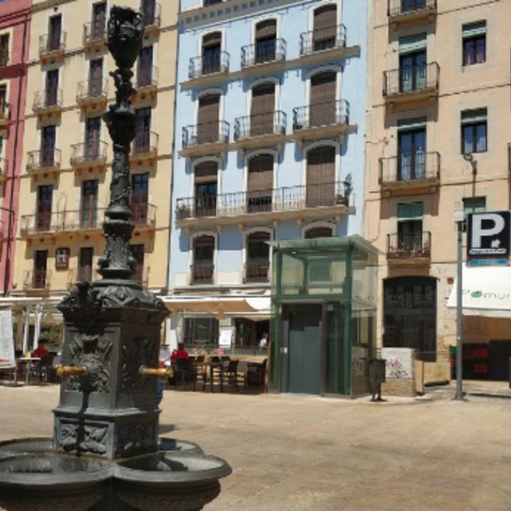 Öffentlicher Parkplatz PLAÇA DE LA FONT (Überdacht) Tarragona