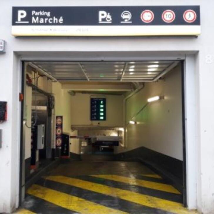 Parking Officiel EFFIA VINCENNES MARCHÉ (Couvert) VINCENNES