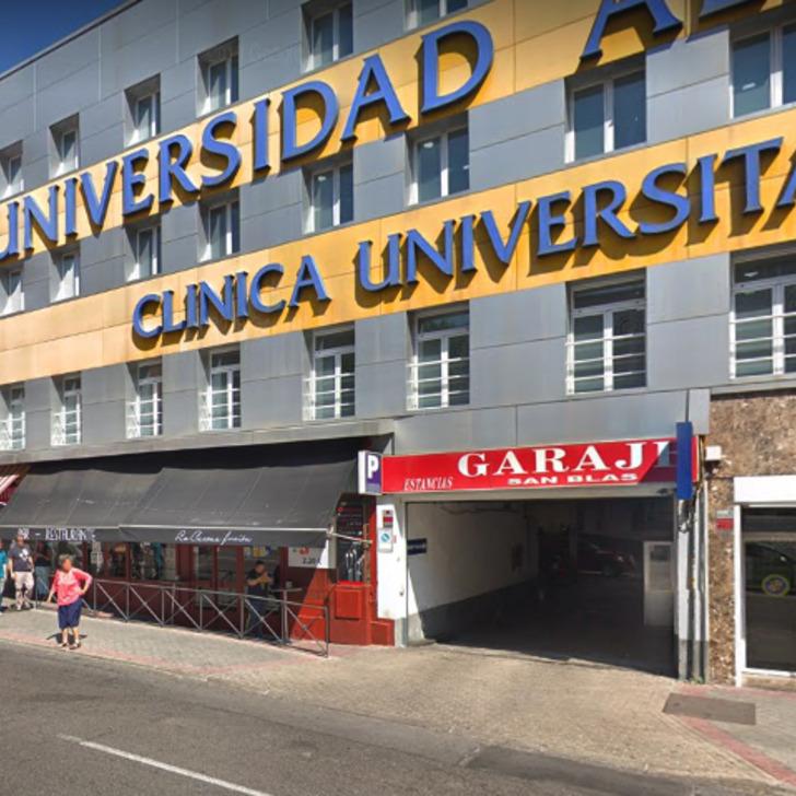 Estacionamento Público GARAJE SAN BLAS (Coberto) Madrid