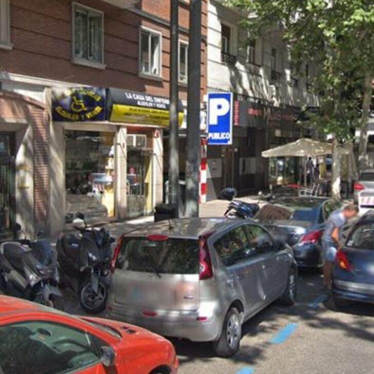 Öffentlicher Parkplatz CEA BERMÚDEZ (Überdacht) Madrid