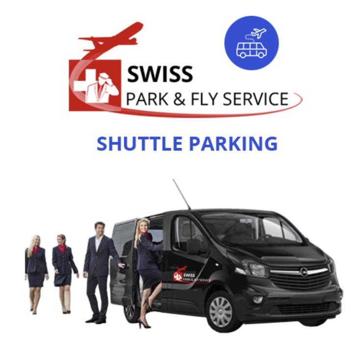Estacionamento Público SWISS PARK AND FLY SERVICE (Exterior) Rümlang