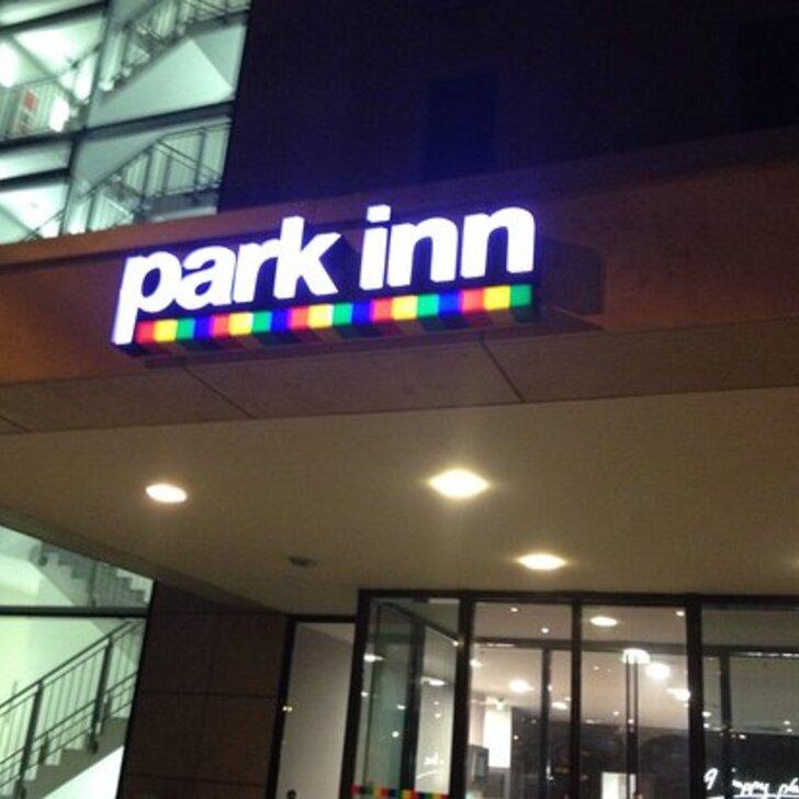 Estacionamento Hotel PARK INN BY RADISSON FRANKFURT AIRPORT (Coberto) Frankfurt am Main