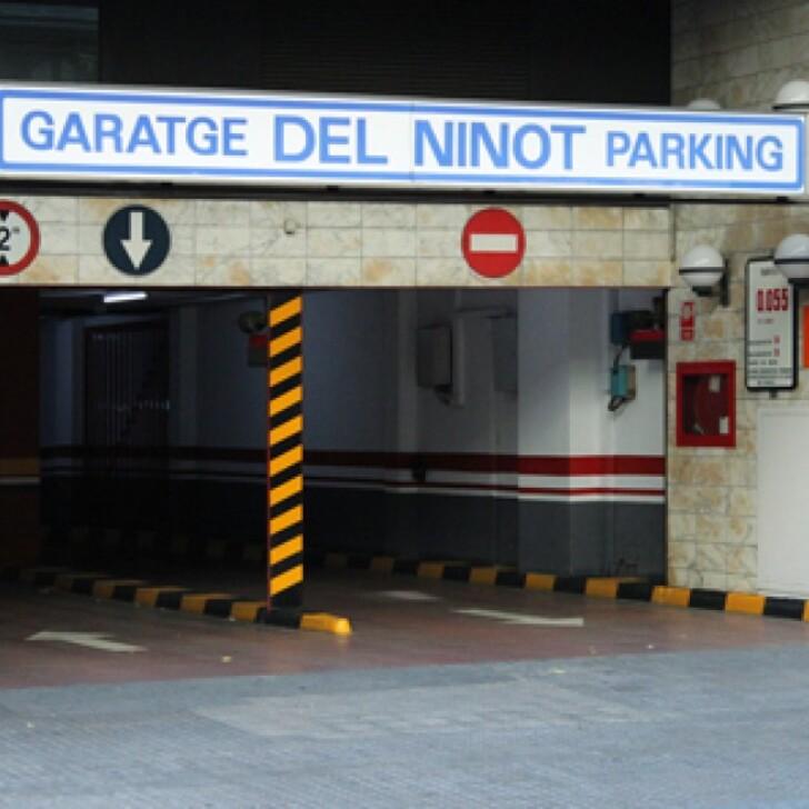 Öffentlicher Parkplatz GARATGE DEL NINOT (Überdacht) Barcelona
