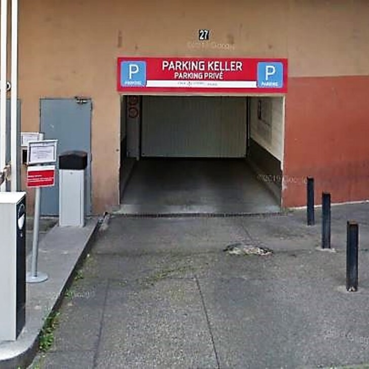Privatgelände Parkplatz RUE DE L'INGENIEUR KELLER (Überdacht) Paris