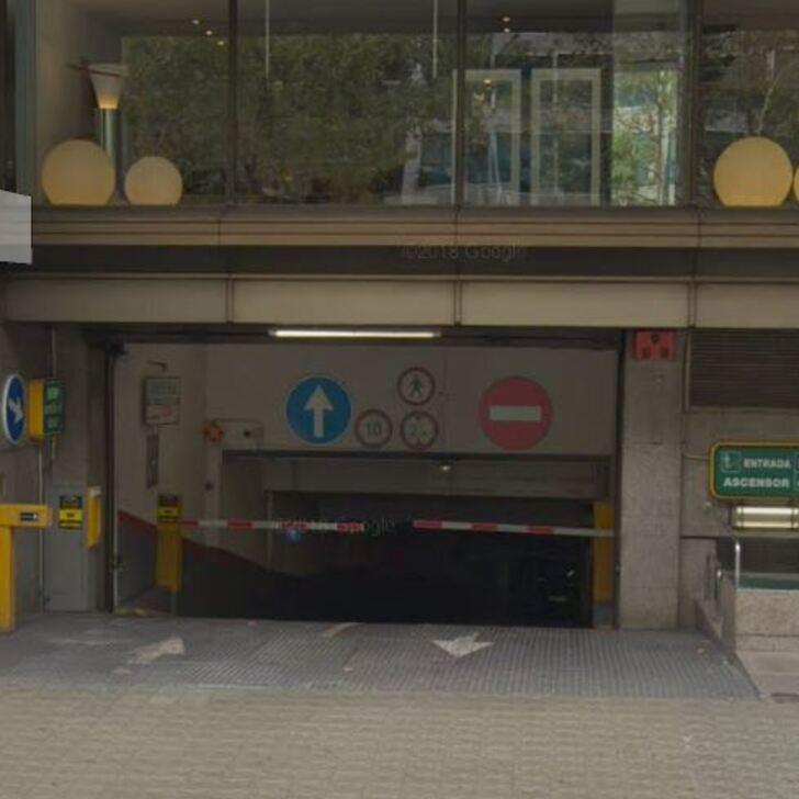 Öffentlicher Parkplatz DIAGONAL 403 (Überdacht) Barcelona