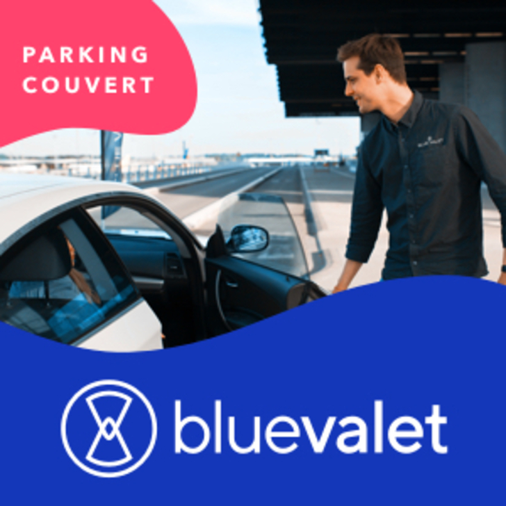 BLUE VALET Valet Service Car Park (Covered) Paris