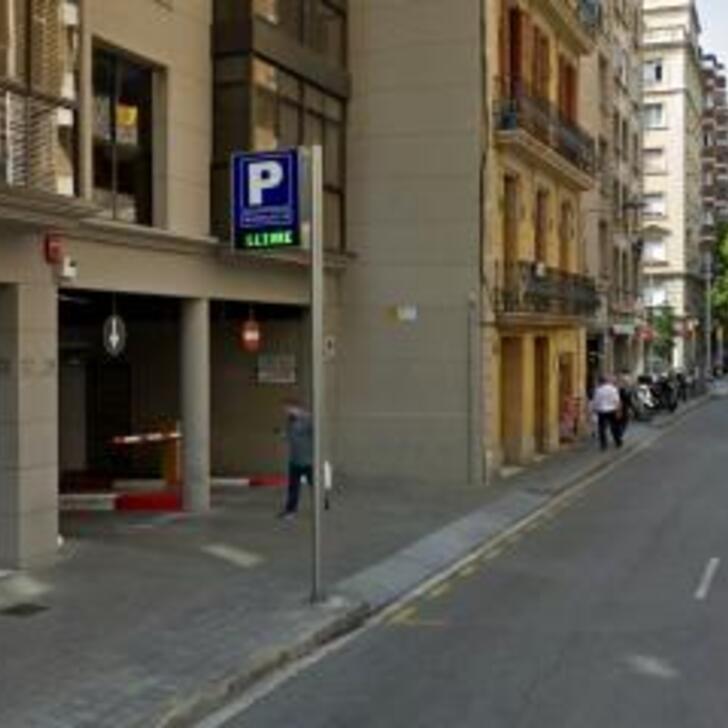 Öffentlicher Parkplatz MADRAZO 27 (Überdacht) Barcelona
