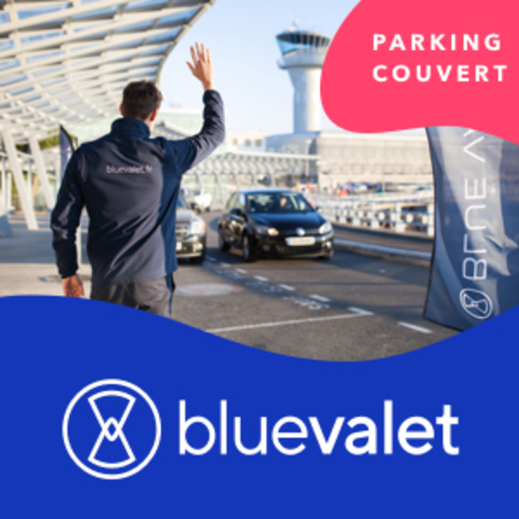 Parking Servicio VIP BLUE VALET (Cubierto) Bouguenais