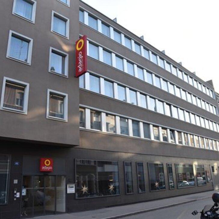 Parking Hôtel APARTHOTEL ADAGIO BASEL CITY (Couvert) Basel