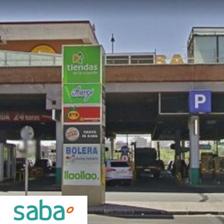 Öffentlicher Parkplatz PARKING SABA ESTACIÓN TREN MADRID - CHAMARTÍN Standardtarif (Überdacht) Madrid