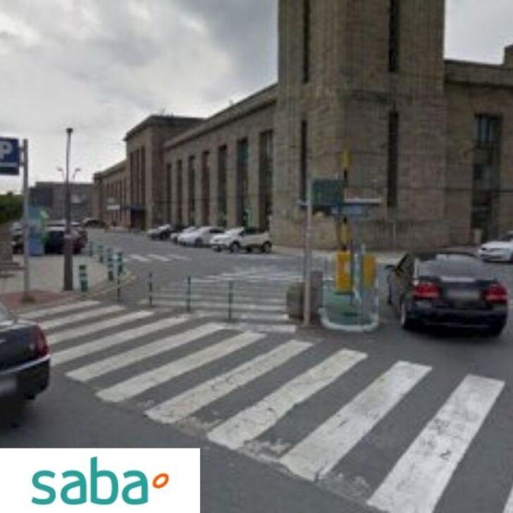 SABA ESTACIÓN TREN A CORUÑA Openbare Parking (Exterieur) A Coruña