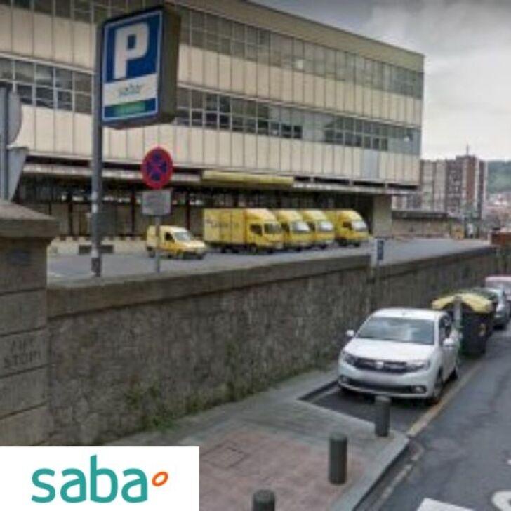 Estacionamento Público SABA ESTACIÓN TREN BILBAO Tarifa de fim de semana (Exterior) Bilbo