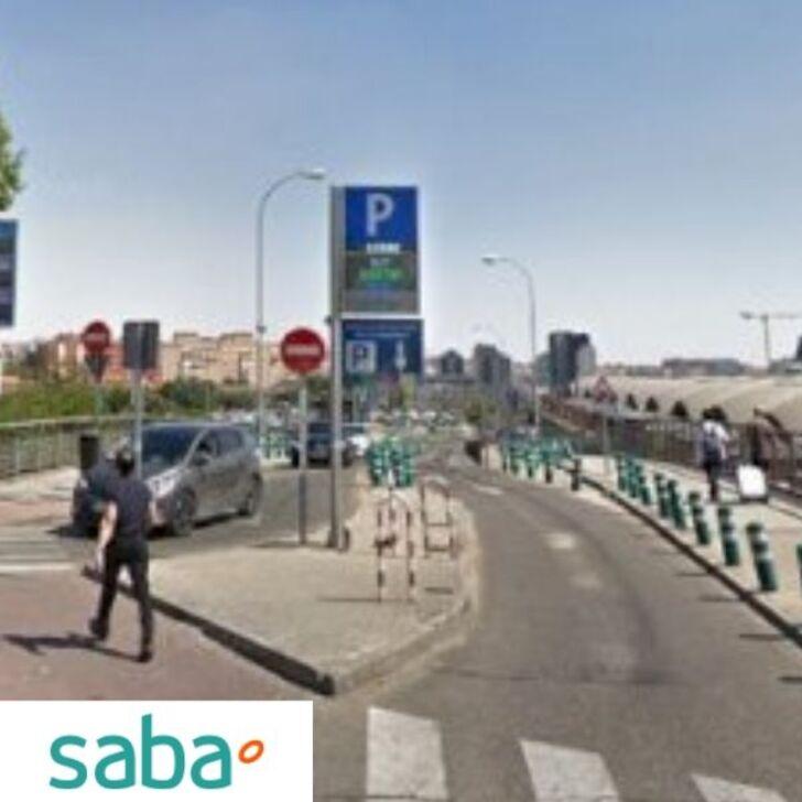 Estacionamento Público SABA ESTACIÓN TREN MADRID - ATOCHA P2 Y P3 (Coberto) Madrid
