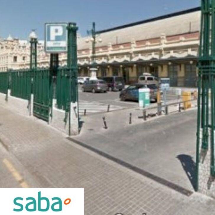 Estacionamento Público SABA ESTACIÓN TREN VALENCIA NORD (Exterior) Valencia