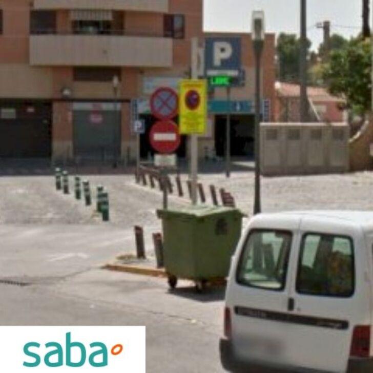 Parking Público SABA ESTACIÓN TREN XÁTIVA (Exterior) Xátiva