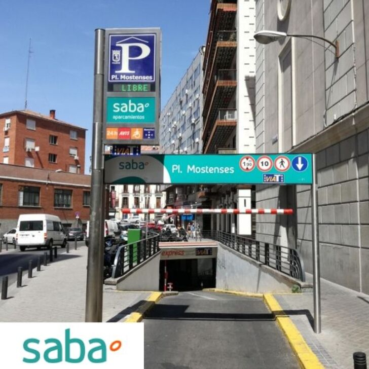 Parking Público SABA PLAZA MOSTENSES (Cubierto) Madrid