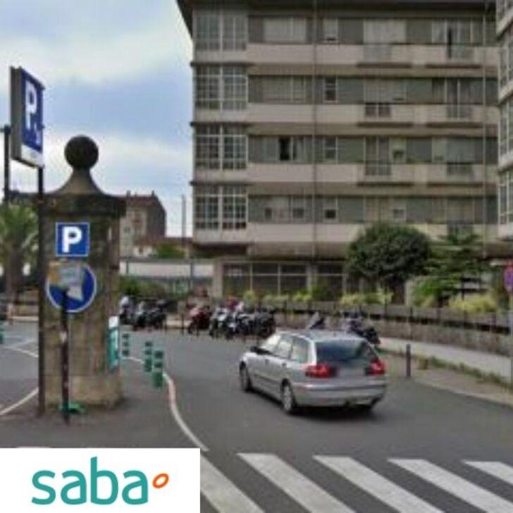 Estacionamento Público SABA ESTACIÓN TREN SANTIAGO DE COMPOSTELA Tarifa regular (Exterior) Santiago de Compostela