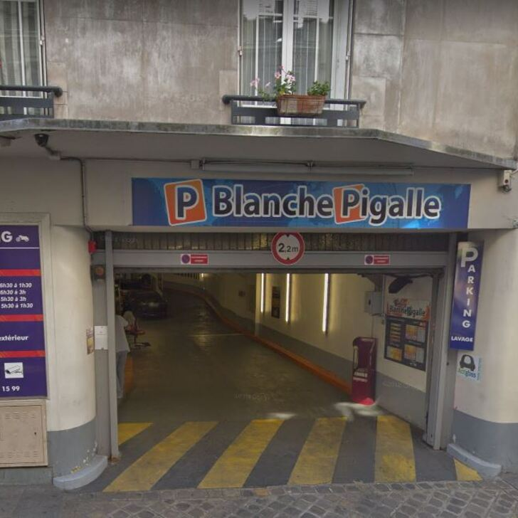 BLANCHE PIGALLE Openbare Parking (Overdekt) Paris