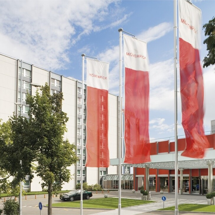 Hotel Parkplatz MÖVENPICK HOTEL ZÜRICH AIRPORT (Nicht Überdacht) Opfikon