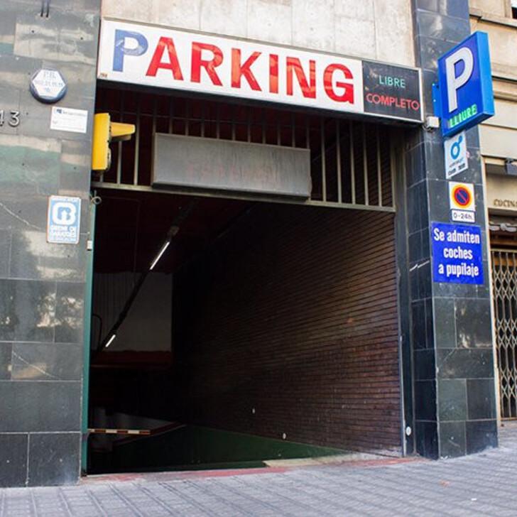 PEGUERA Openbare Parking (Overdekt) Barcelona