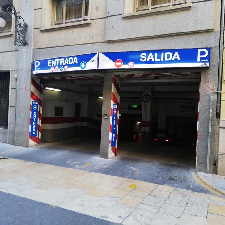 Parking Público APK2 APARCAMIENTO LYS (Cubierto) Valencia
