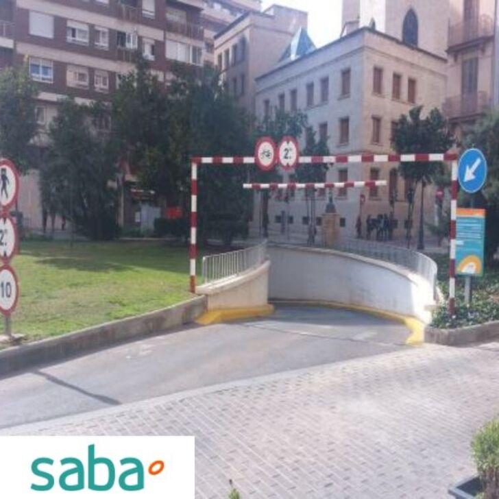 Öffentlicher Parkplatz SABA CARDONA VIVES (Überdacht) Castelló de la Plana