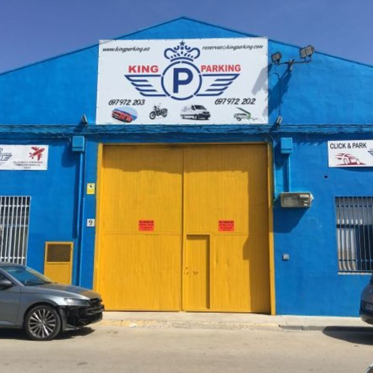 Discount Parkhaus KINGPARKING (Überdacht) Manises, Valencia