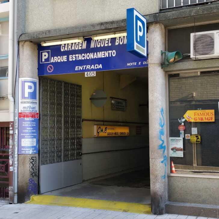 Estacionamento Público GARAGEM MIGUEL BOMBARDA (Coberto) Porto
