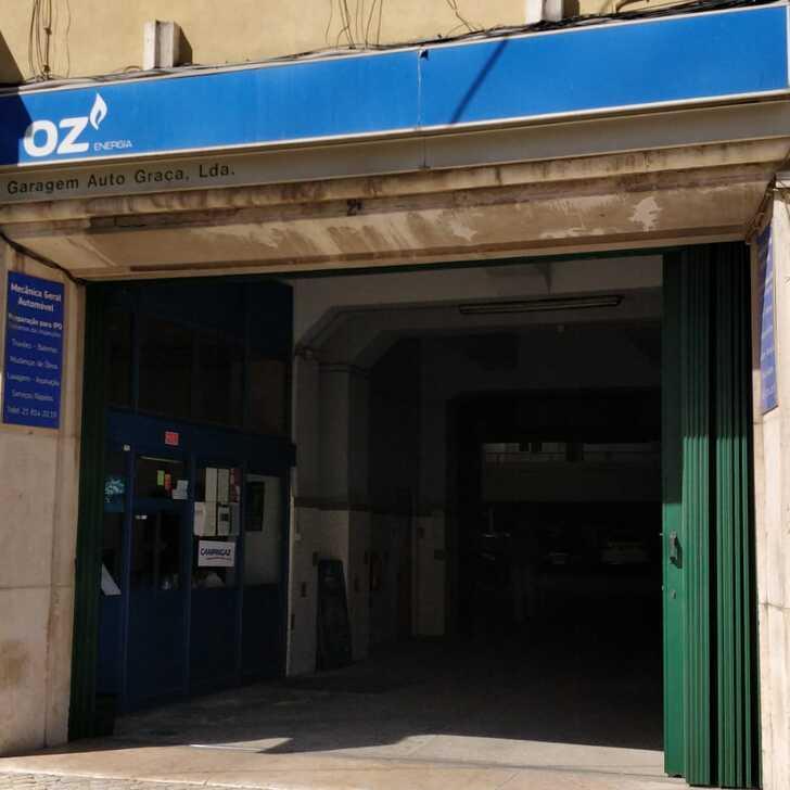 Estacionamento Público GARAGEM AUTO GRAÇA (Coberto) Lisboa
