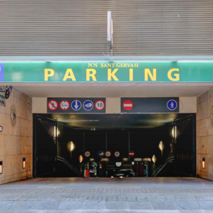 Parking Public N.N. SANT GERVASI (Couvert) Barcelona