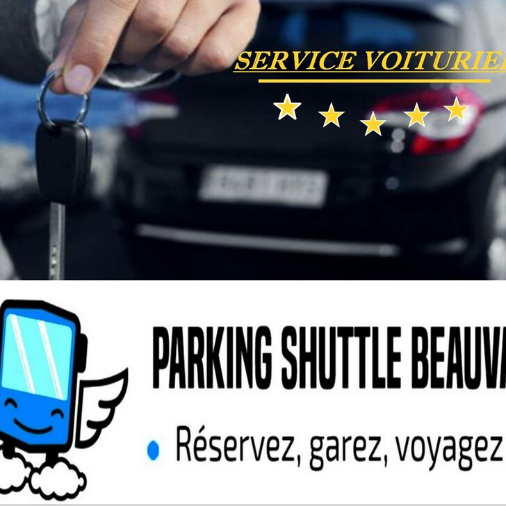 PARK & SHUTTLE BEAUVAIS Valet Service Parking (Exterieur) Beauvais