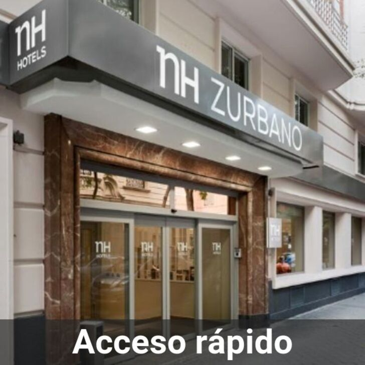 Parking Hotel NH MADRID ZURBANO (Cubierto) Madrid