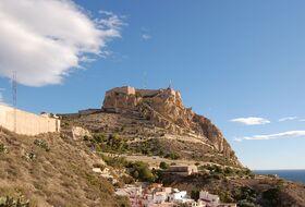 Parking Castillo de Santa Bárbara en Alicante : precios y ofertas - Parking de lugar turístico   Onepark