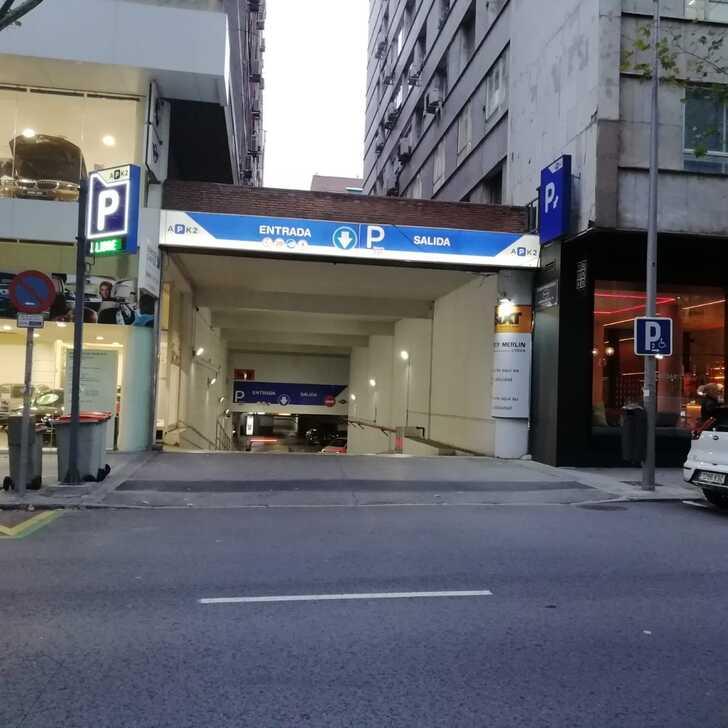 Parcheggio Pubblico APK2 MOSCARDÓ (Coperto) Madrid