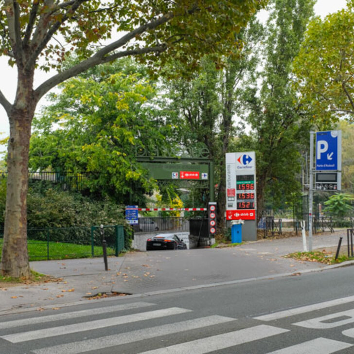Öffentliches Parkhaus AUTOCITÉ PORTE D'AUTEUIL (Überdacht) Paris