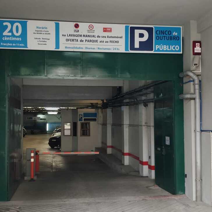 5 DE OUTUBRO Openbare Parking (Overdekt) Porto