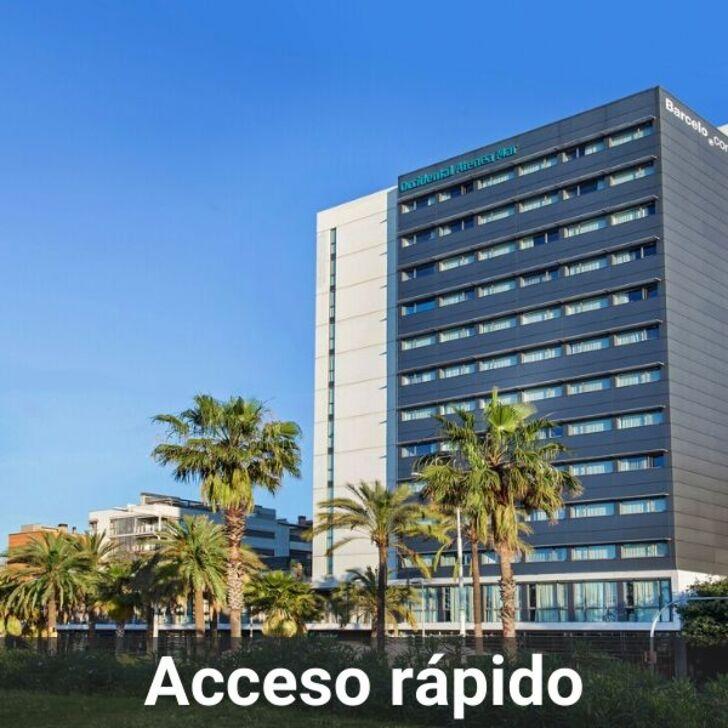 Parcheggio Hotel OCCIDENTAL ATENEA MAR (Coperto) Barcelona