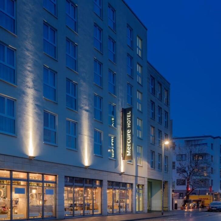 Estacionamento Hotel MERCURE HANNOVER MITTE (Coberto) Hannover