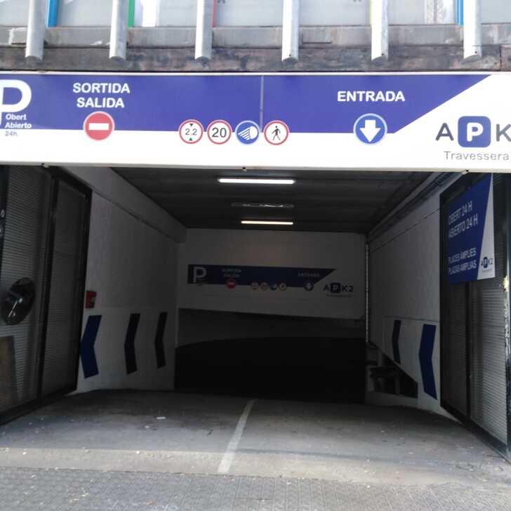 Parking Public TRAVESSERA 53 (Couvert) Barcelona