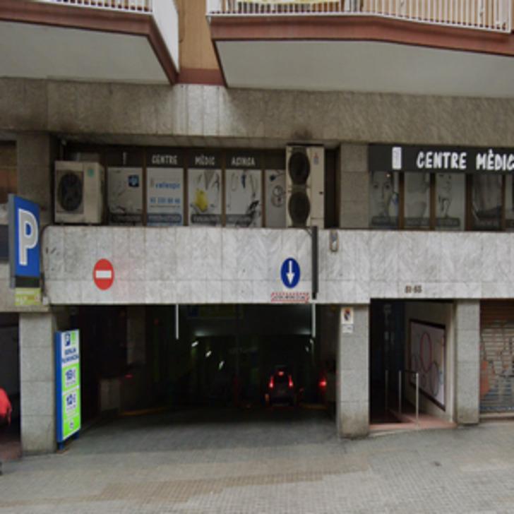 Öffentliches Parkhaus BERLÍN NUMANCIA (Überdacht) Barcelona