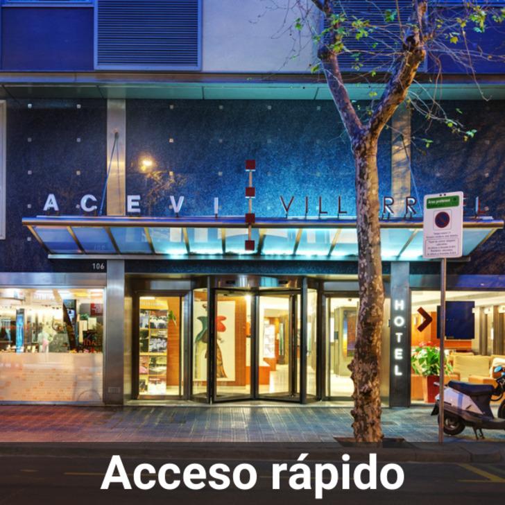 Parking Hôtel ACEVI VILLARROEL (Couvert) Barcelona